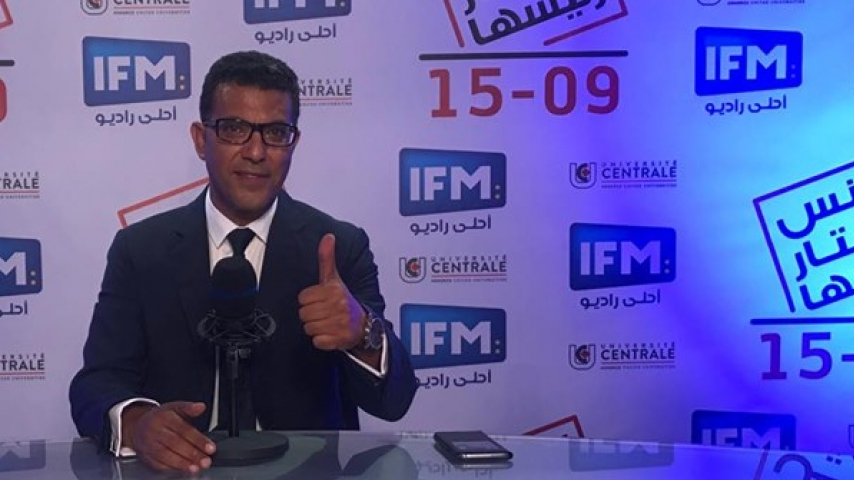 المترشّح للرّئاسة منجي الرّحوي للطالب حاتم الرّكباني ...